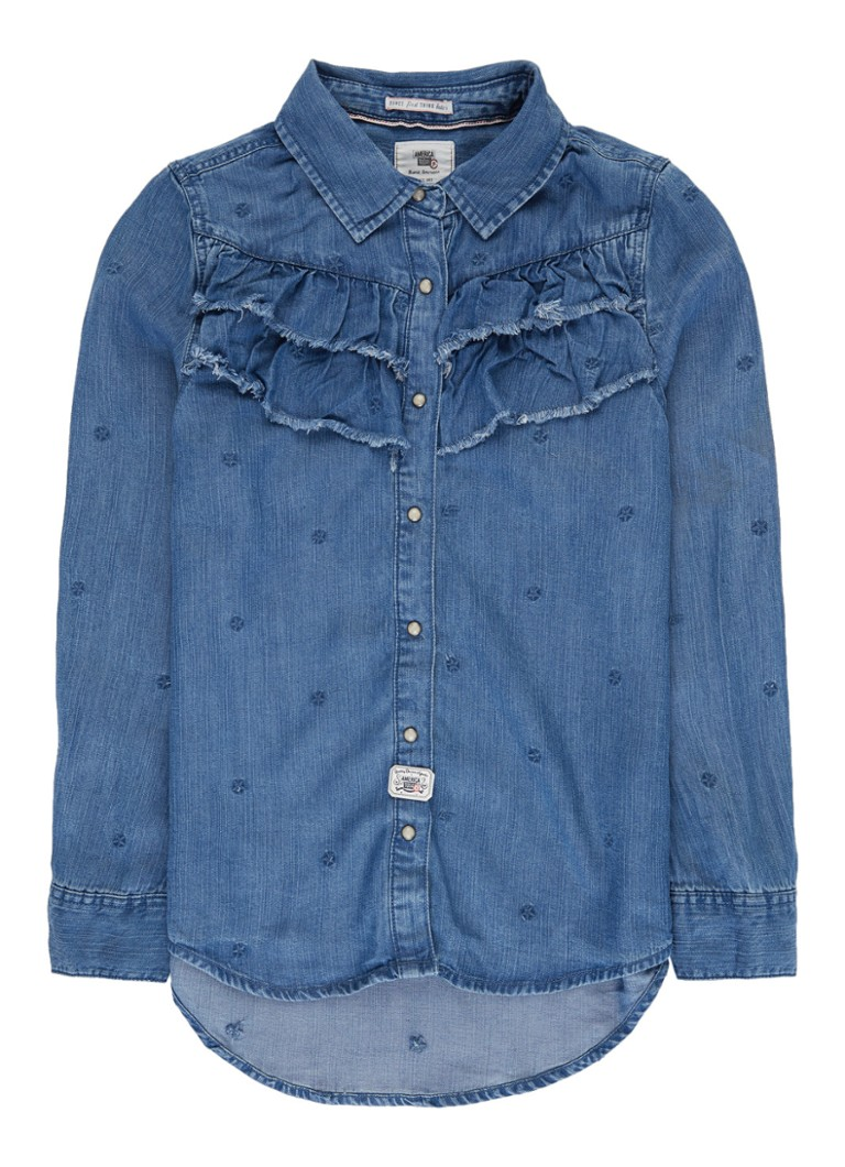 America Today Brook blouse van denim