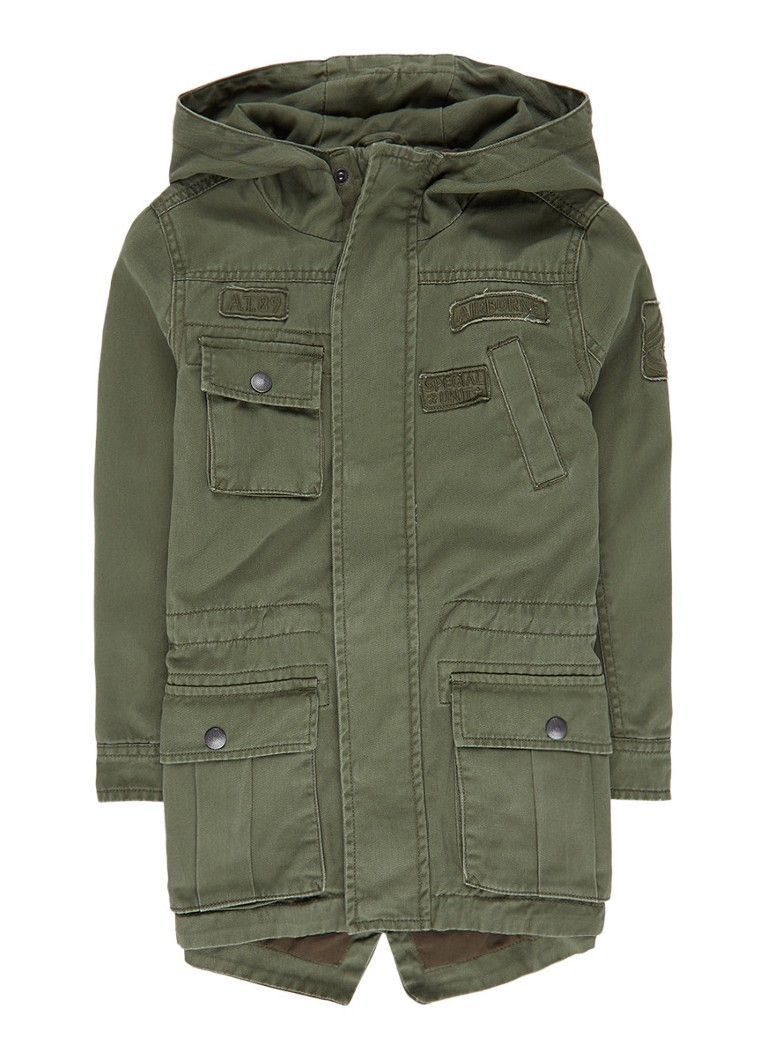 America Today Jagger parka met capuchon