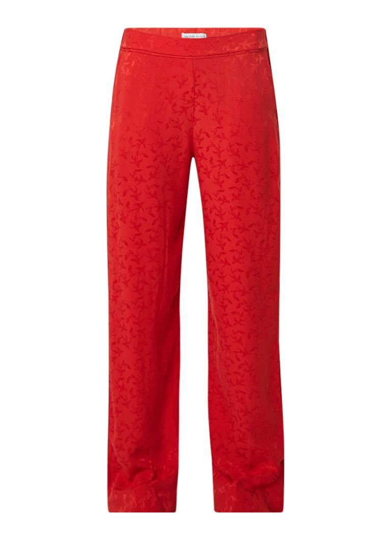 Fabienne Chapot Stella pantalon met ingeweven dessin