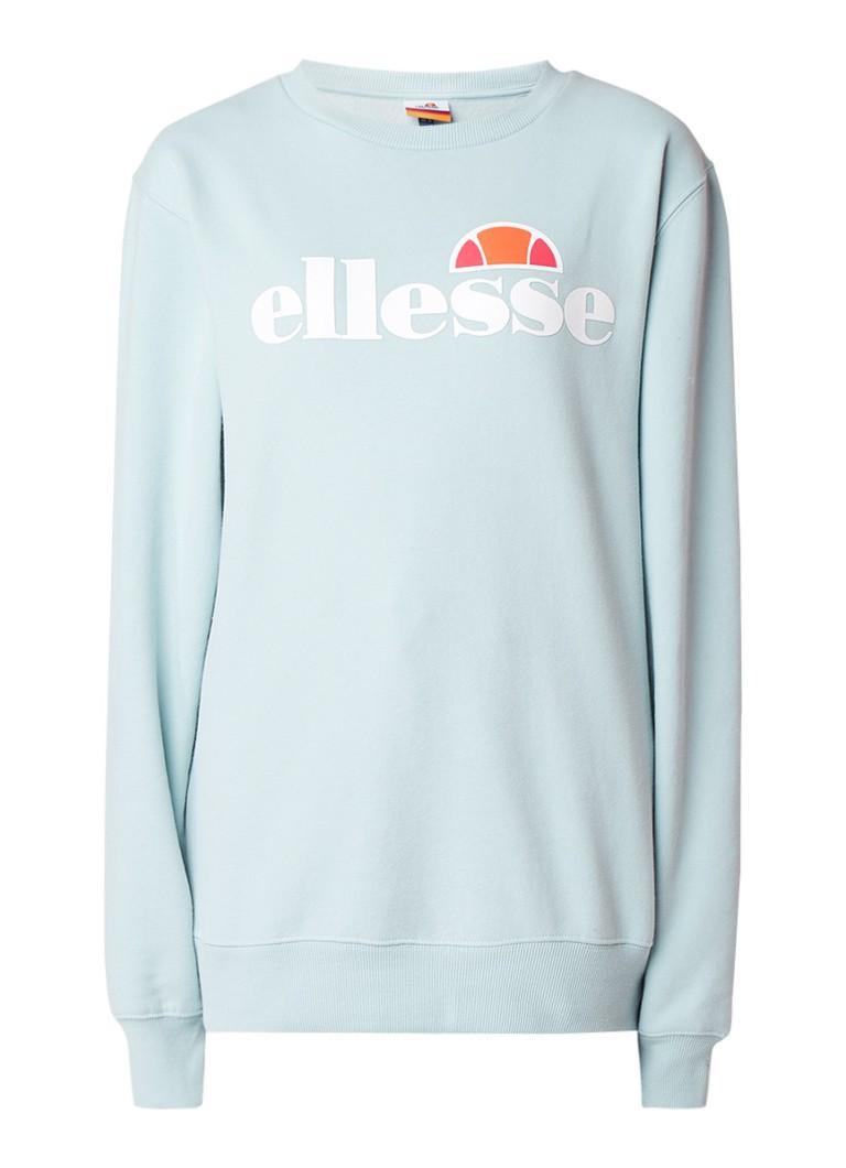 ellesse Agata oversized sweater met logoprint
