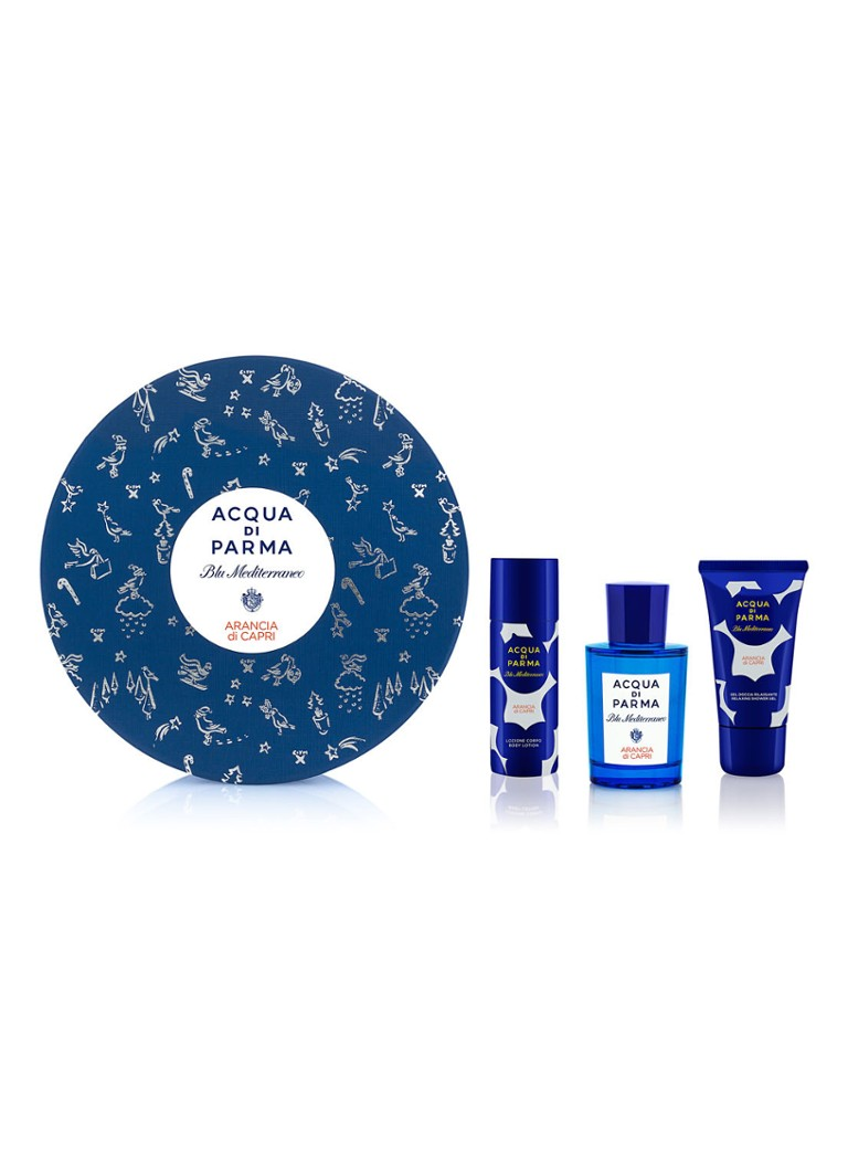 Acqua di Parma Blu Mediterraneo Arancia di Capri X-Mas Set - parfumset