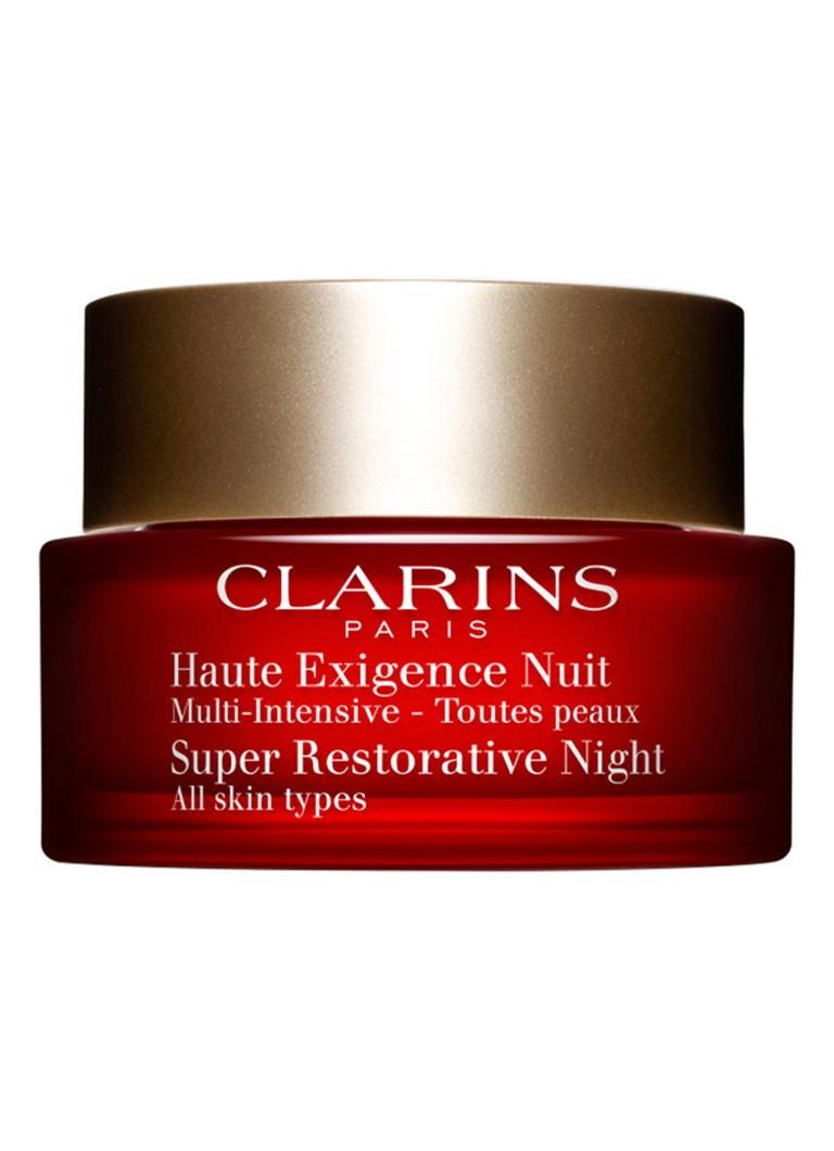 Image of Clarins Super Restorative Haute Exigence Nuit alle huidtypes - nachtcrème