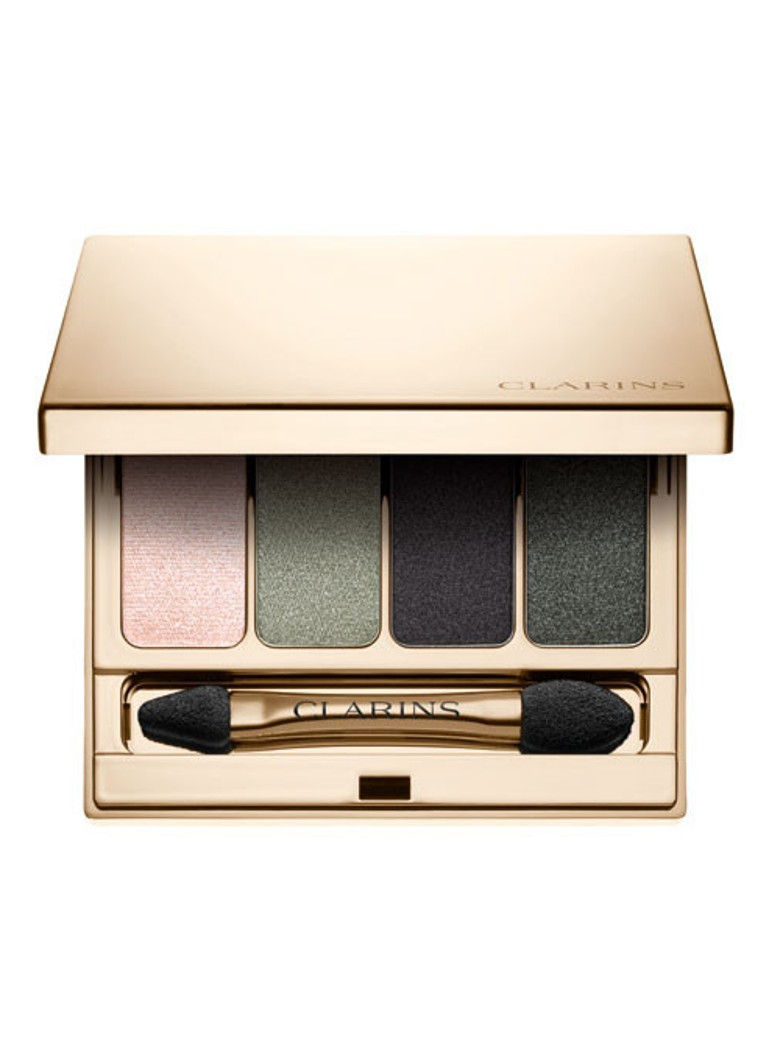 Make up Clarins Palette 4 Couleurs   oogschaduw palette 06 Forest