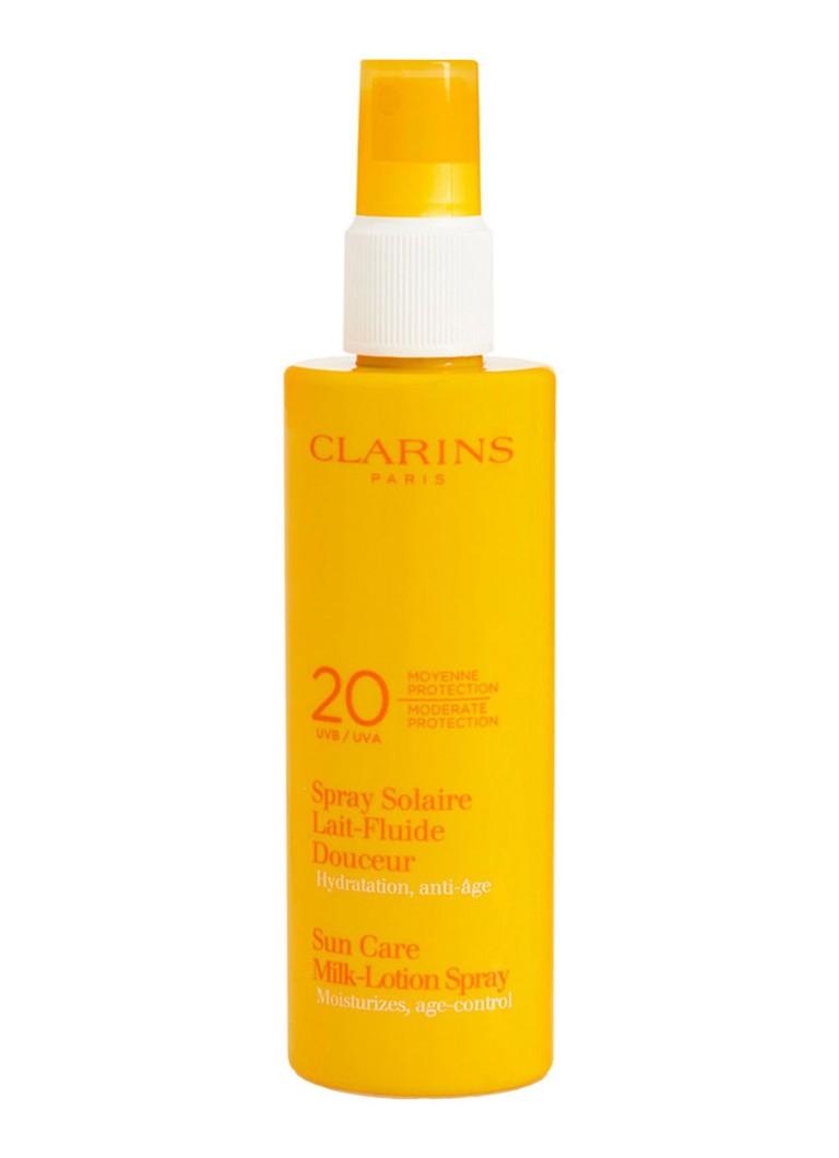 Clarins Spray Solaire Lait Fluide Douceur SPF20