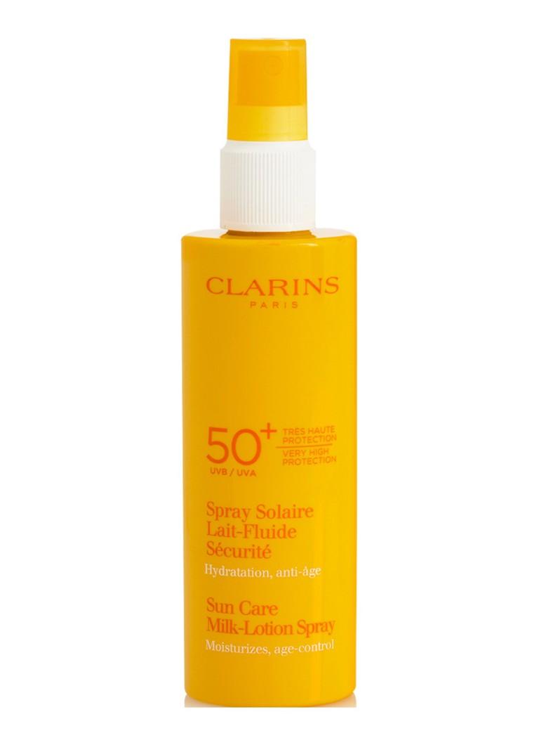 Clarins Spray Solaire Lait FLuide Haute Protection SPF 50