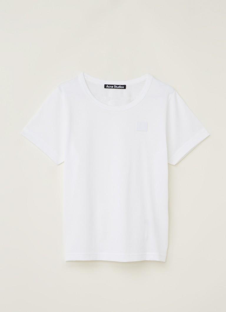 Acne Studios Mini Nash T-shirt met logo