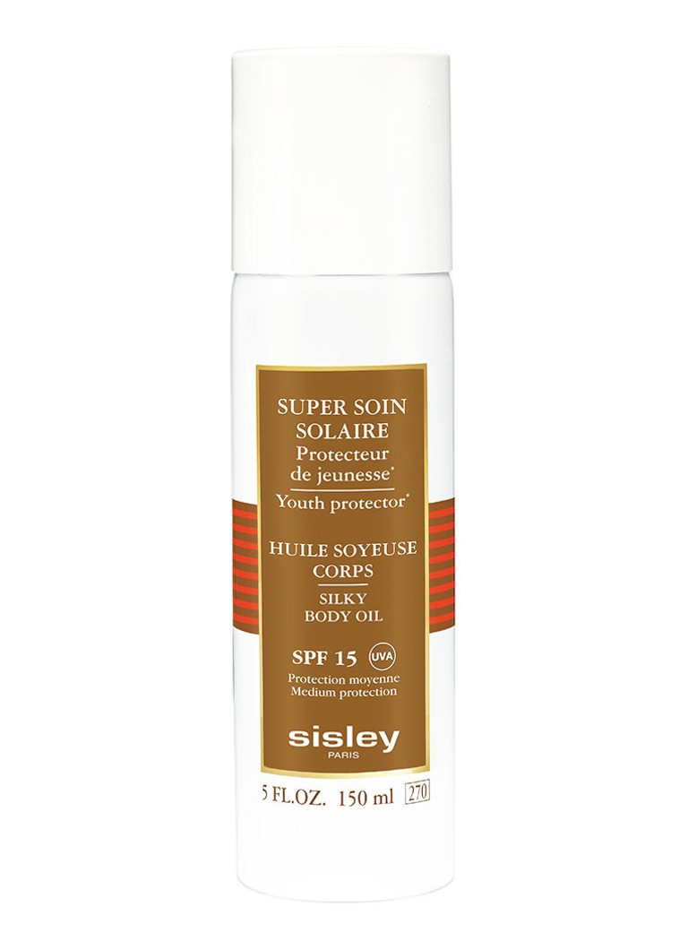 Sisley Super Soin Solaire Silky Body Oil Sun Care SPF15 - zonnebrand