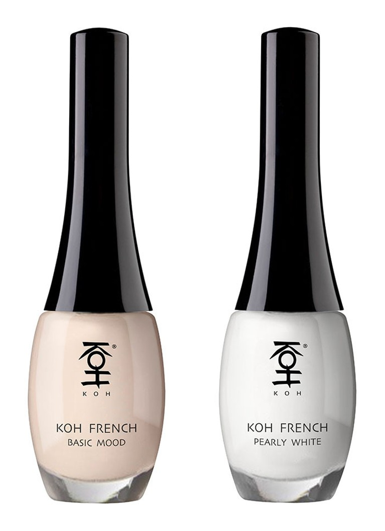 KOH French In Two Steps Basic Mood nagellak