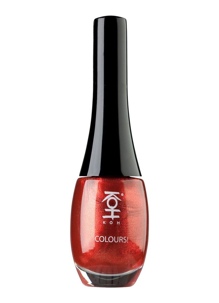 KOH 107 Metallic Red
