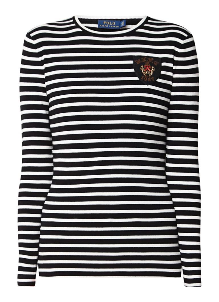 Ralph Lauren Fijngebreide pullover met merkembleem