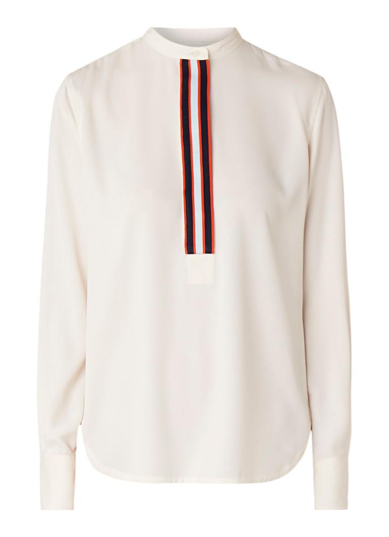 Image of Calvin Klein Blouse met streepdetail