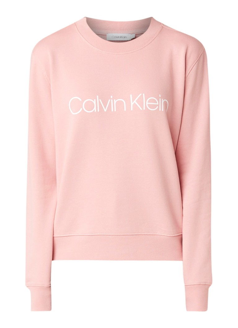 Image of Calvin Klein Sweater met logoprint