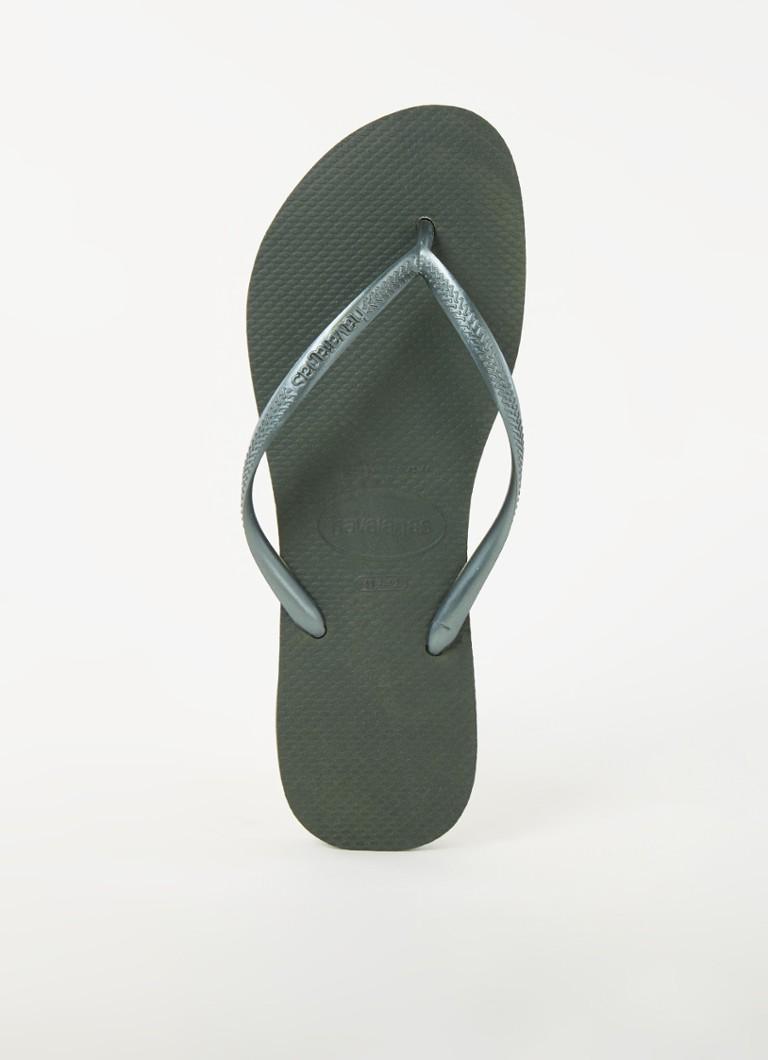 Havaianas Slippers Slim 4000030.4896.F72 Groen-37/38 maat 37/38 online kopen