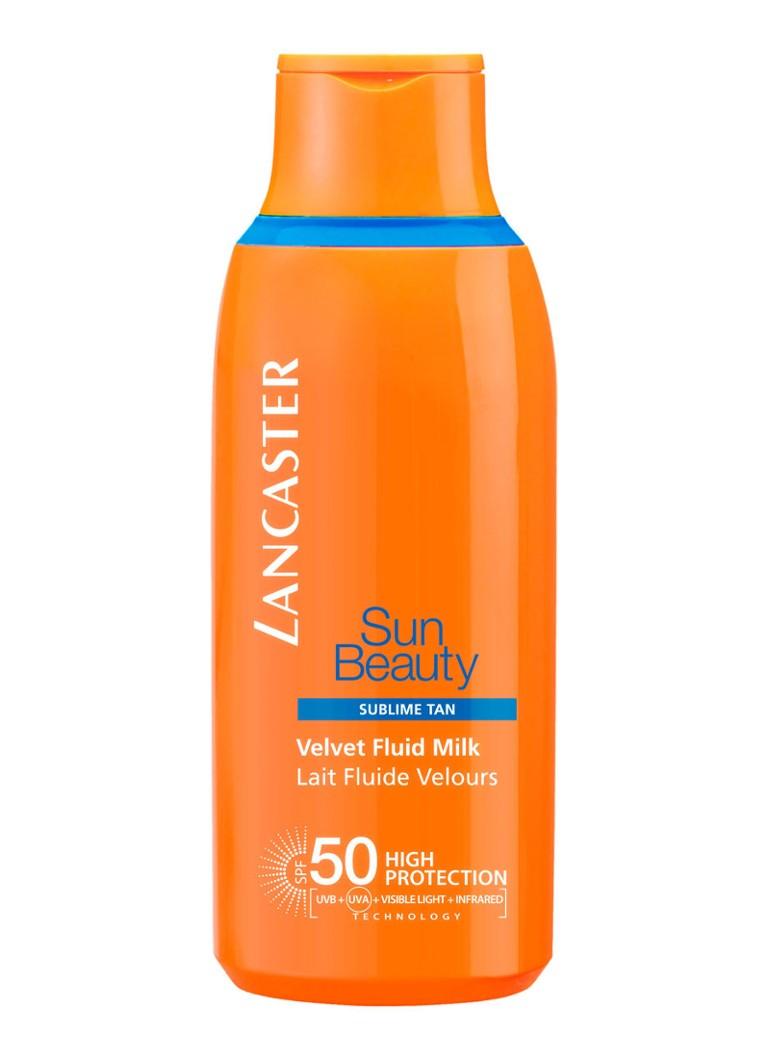 Image of Lancaster Sun Beauty Velvet Fluid Milk SPF50 - zonnebrand