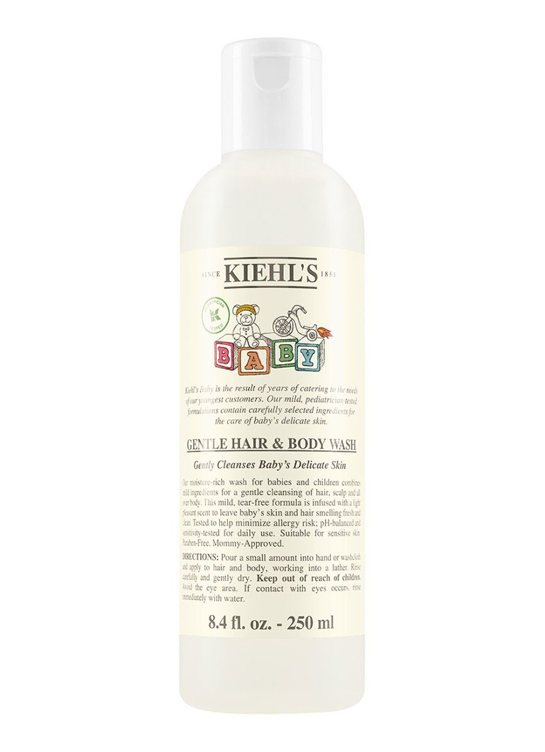 Kiehl's Baby Gentle Hair & Body Wash - babyshampoo & wasgel