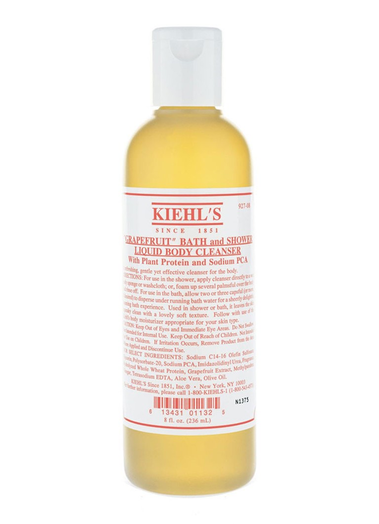 Kiehl's Bath and Shower Liquid Body Cleanser Grapefruit
