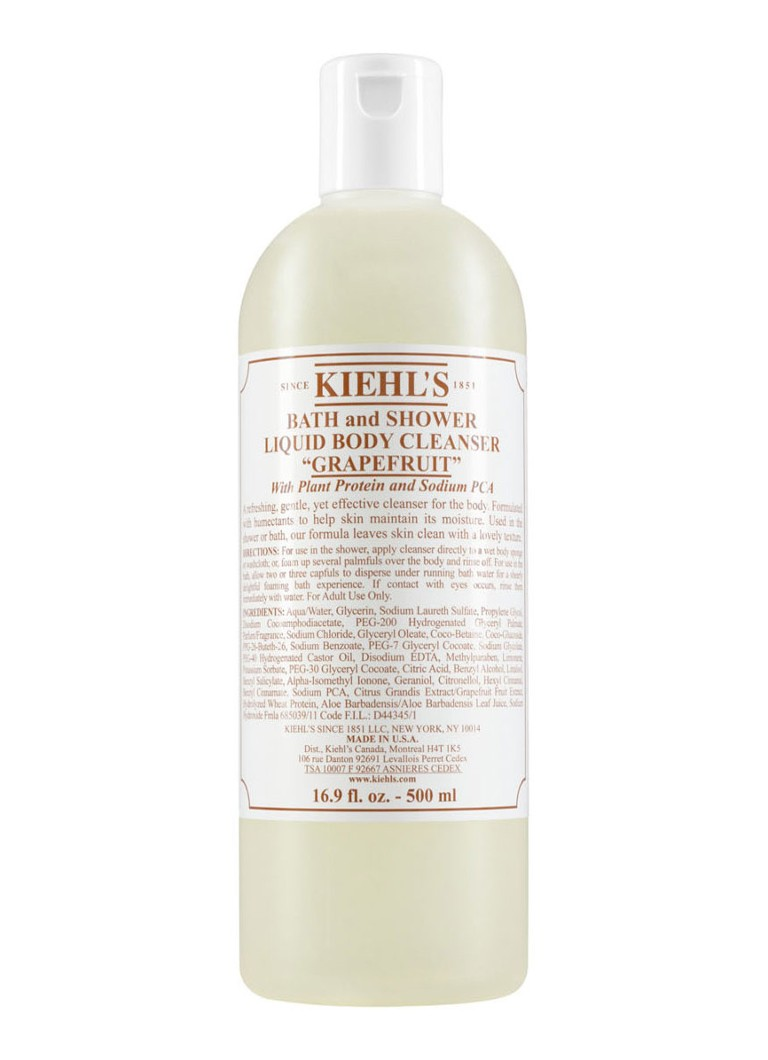 Bath and Shower Liquid Body Cleanser Grapefruit bad douchegel