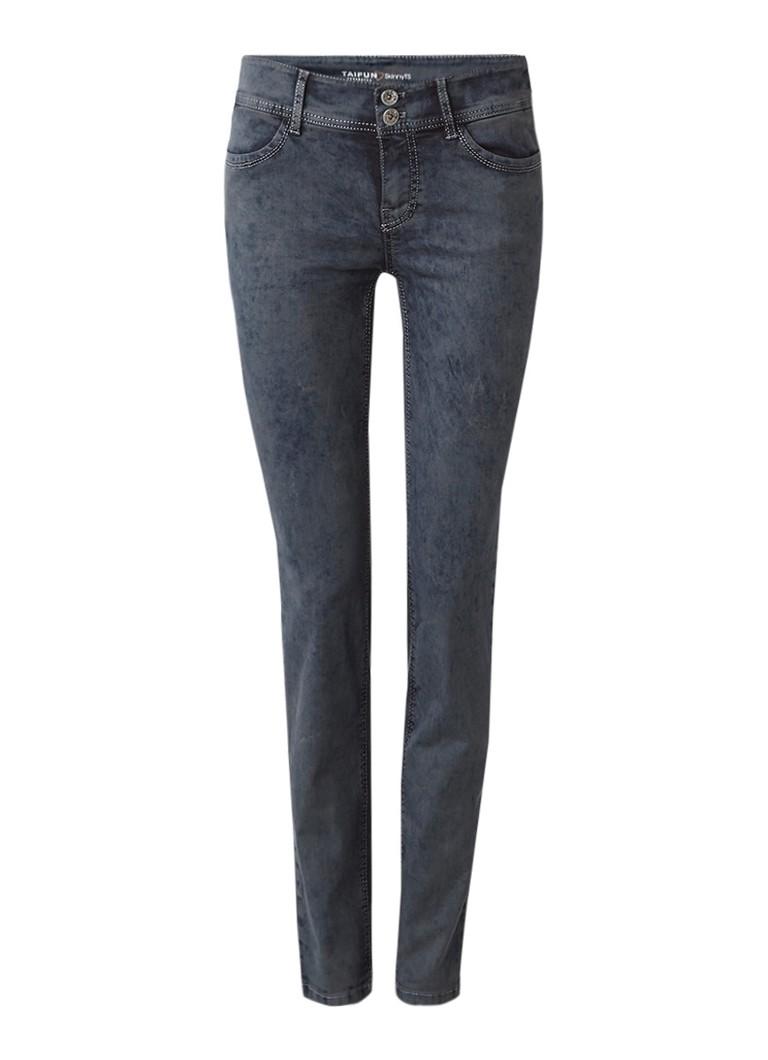 Taifun Regular rise skinny fit jeans van stretch denim