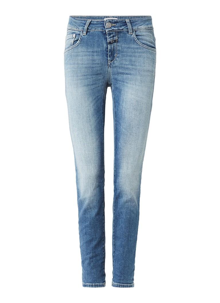 Closed Baker high rise slim fit jeans van Candiani denim