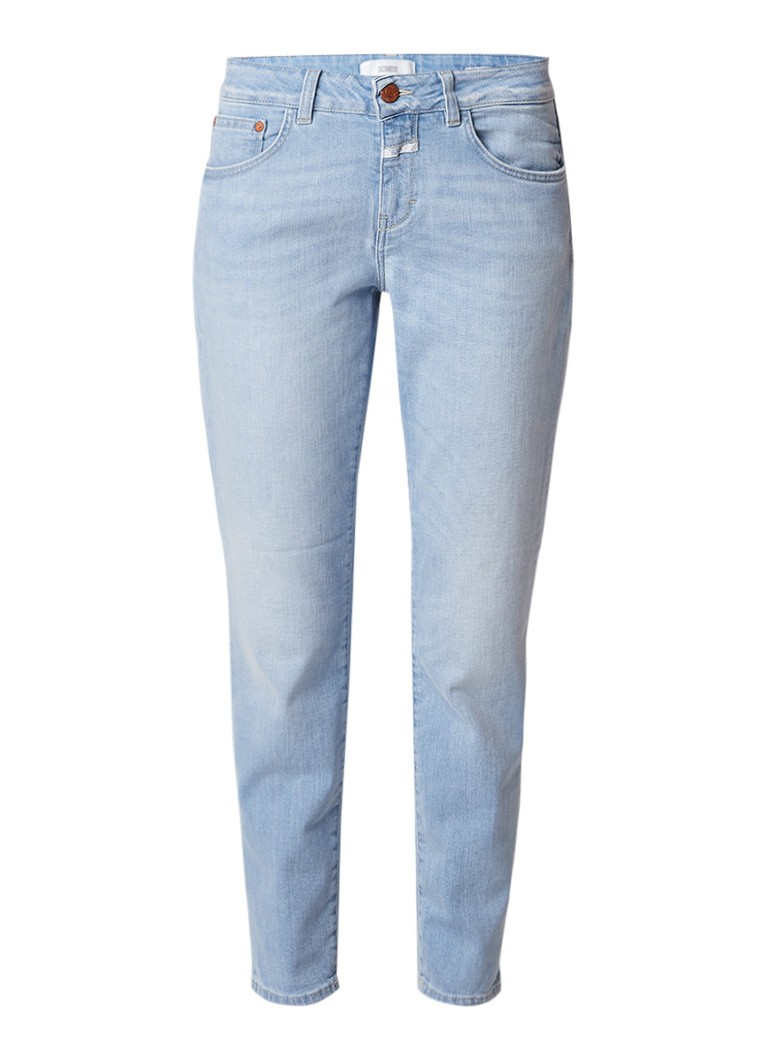 Closed Baker high rise slim fit jeans in lichte wassing