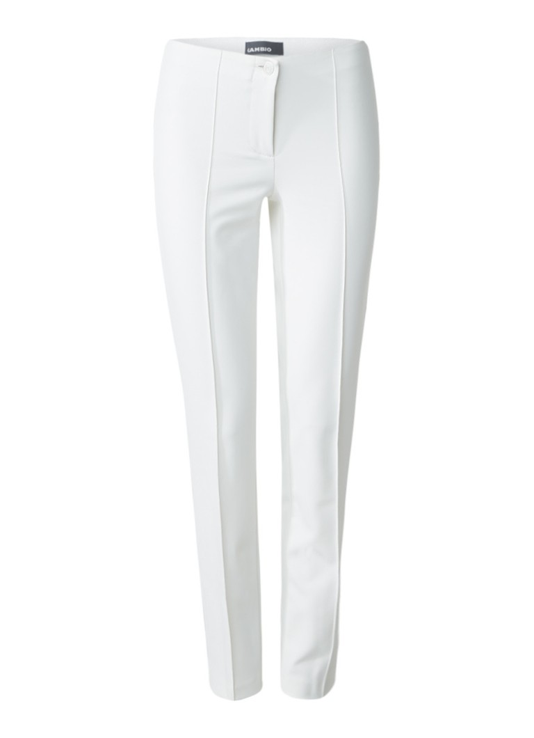 Claudia Sträter Cambio pantalon met deelnaad roze
