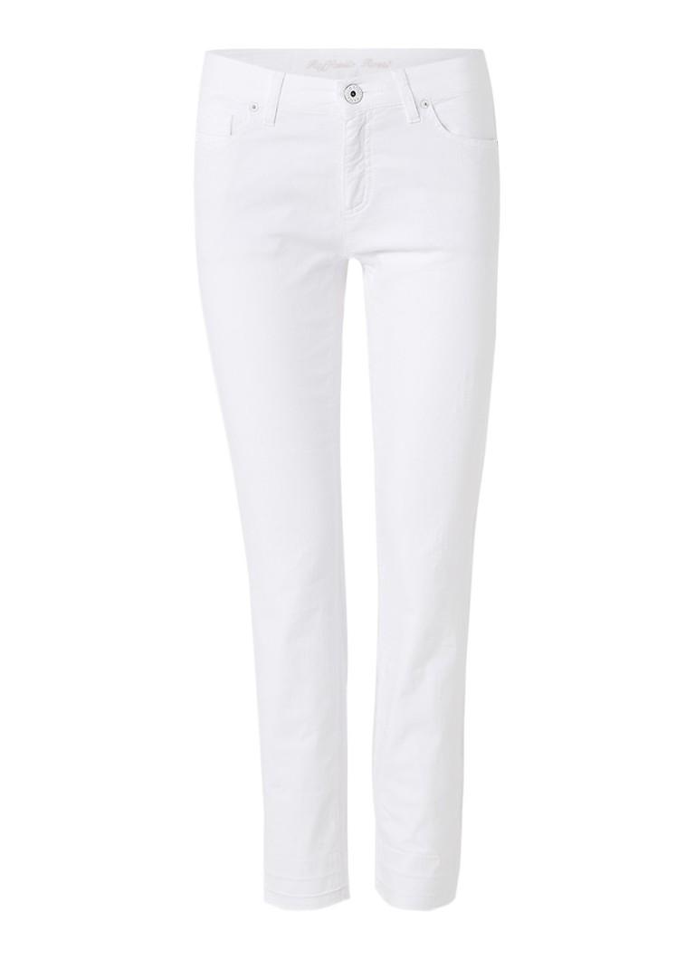 Claudia Sträter Raffaello Rossi skinny 7/8 jeans met gerafelde zoom roze