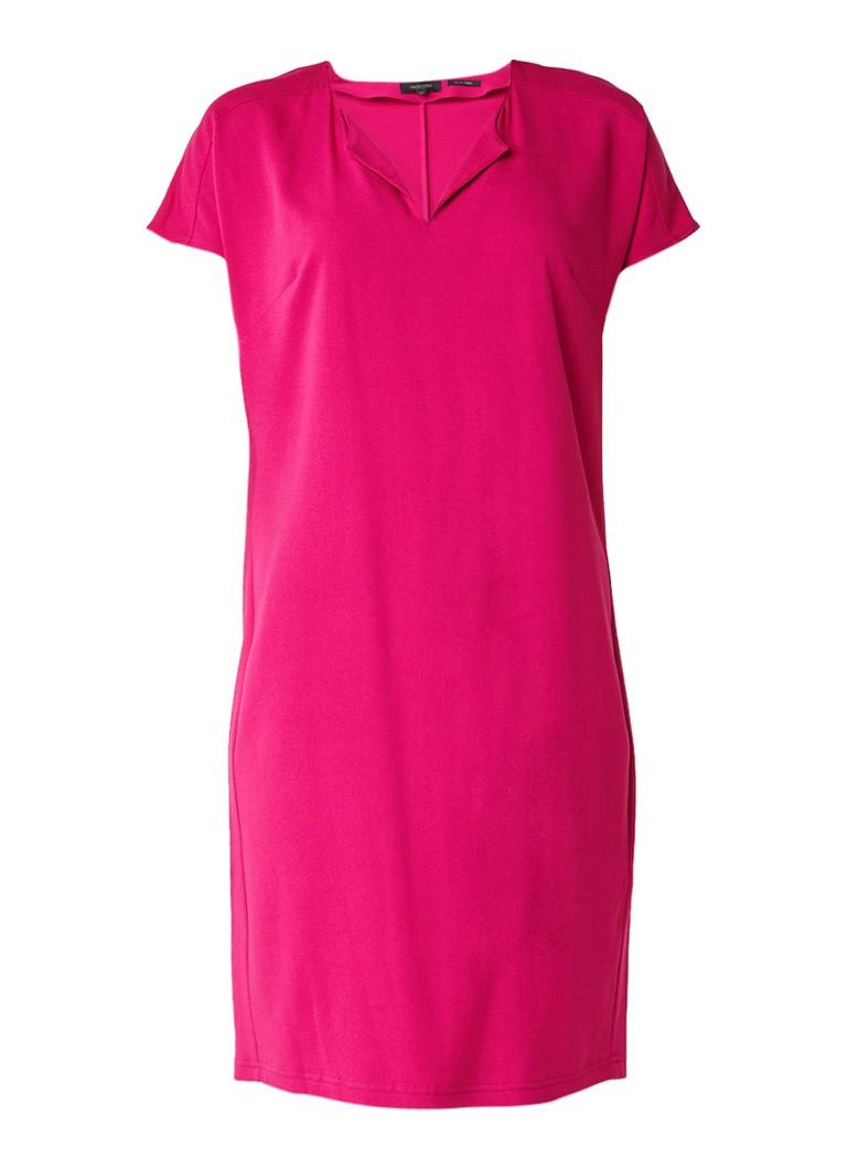 Claudia Sträter Shift jurk met V-hals rood
