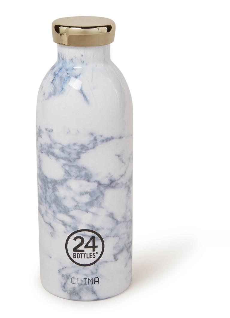 24Bottles White Marble Clima Bottle drinkfles 500 ml
