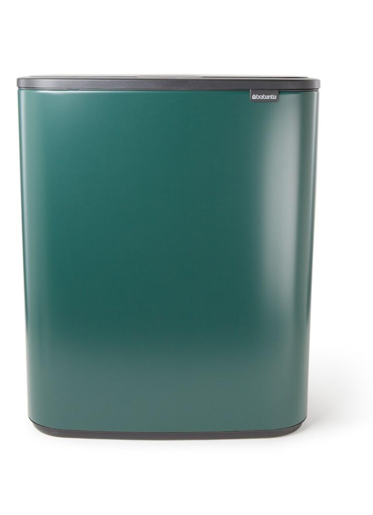 Bo touch prullenbak 60 liter 2 x 30 liter