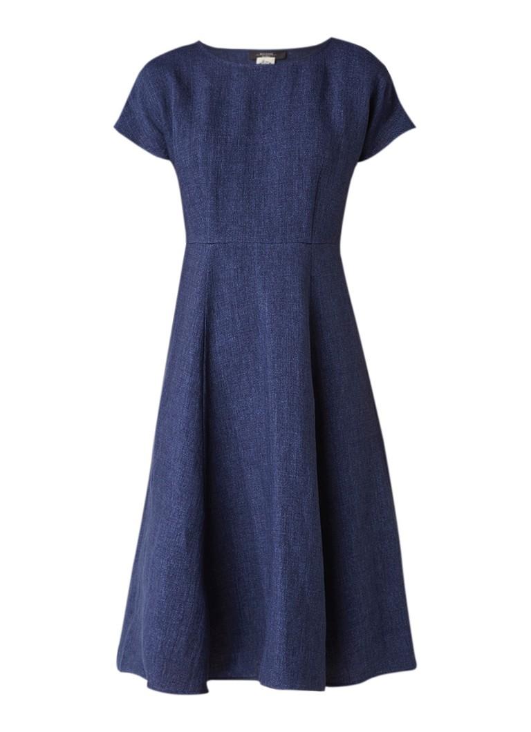 MaxMara Oscuro Alijn jurk van