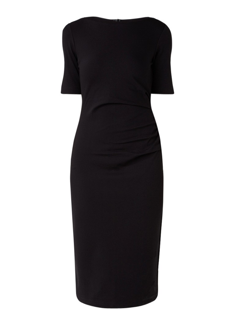 MaxMara Aansluitende jurk van jersey donkergrijs