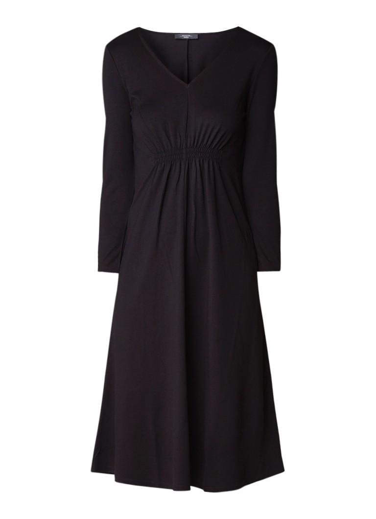 MaxMara Abano jurk van jersey zwart