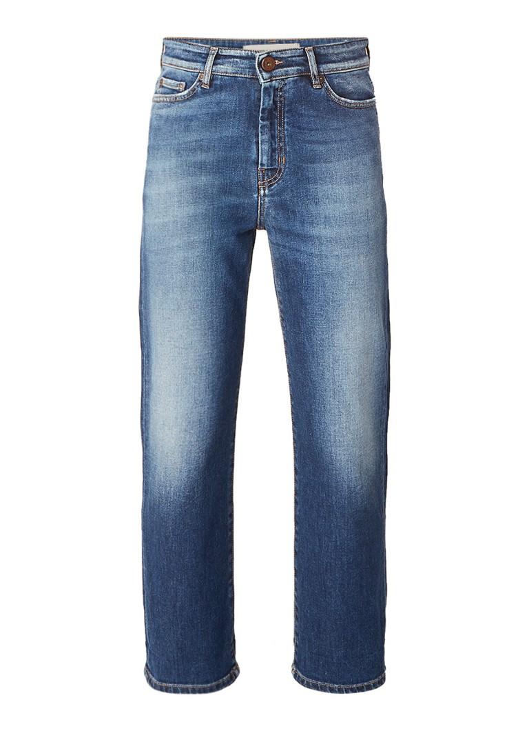 MaxMara High rise boyfriend cropped fit jeans