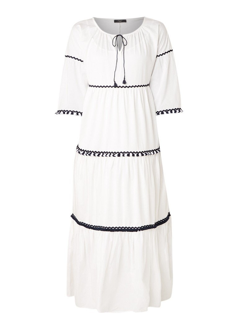 MaxMara Maxi-jurk met driekwart mouwMMaxi-jurk met driekwart mouwaMaxi-jurk met driekwart mouwxMaxi-jurk met driekwart mouwiMaxi-jurk met driekwart mo
