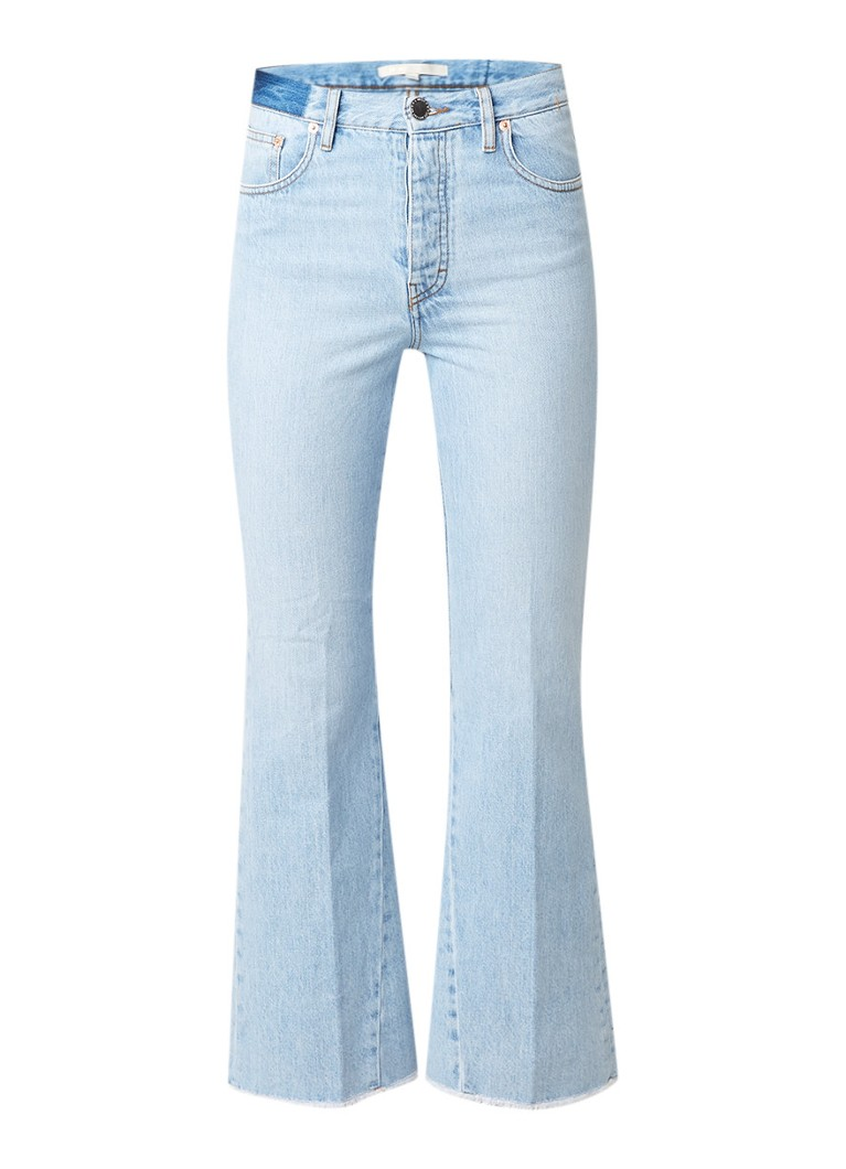 Maje Prudy high rise flared jeans