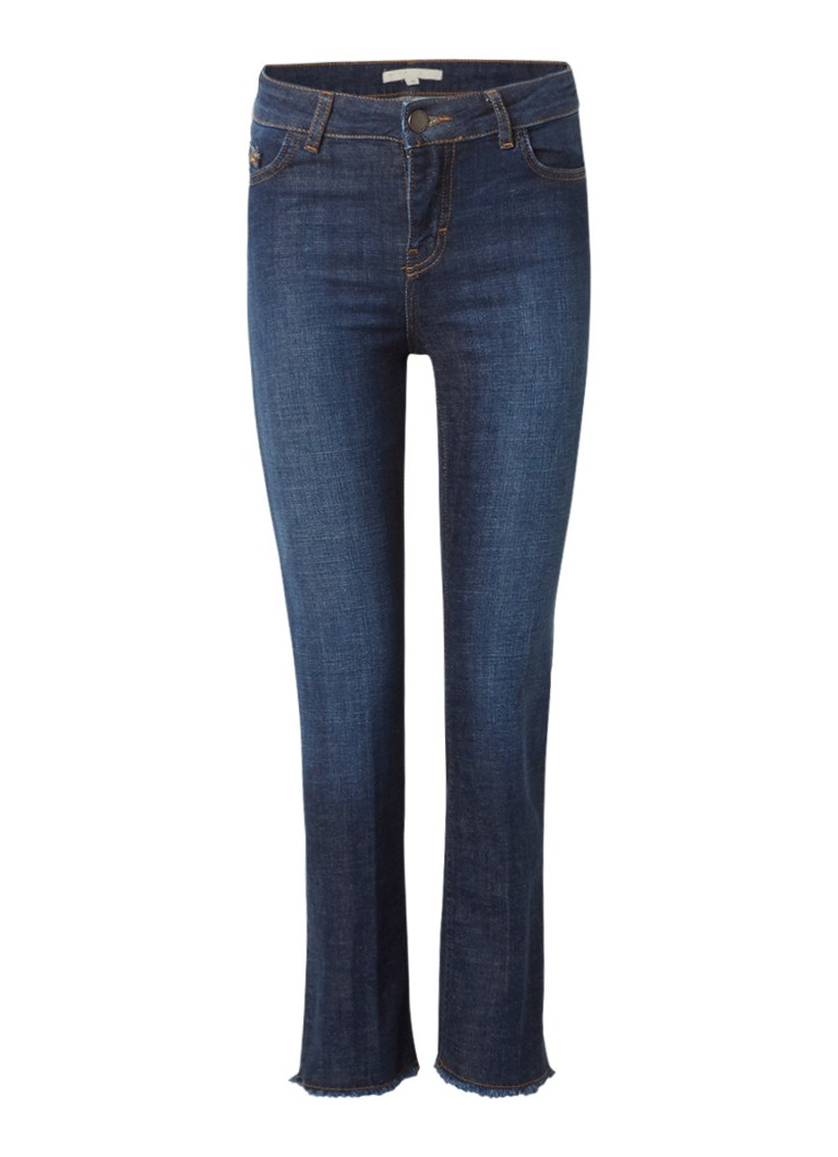 Maje Parisse high rise cropped slim fit jeans
