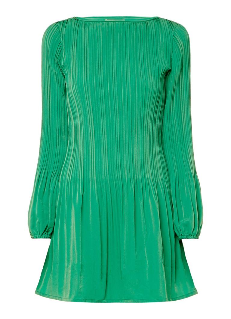 Maje Rockin geplisseerde jurk