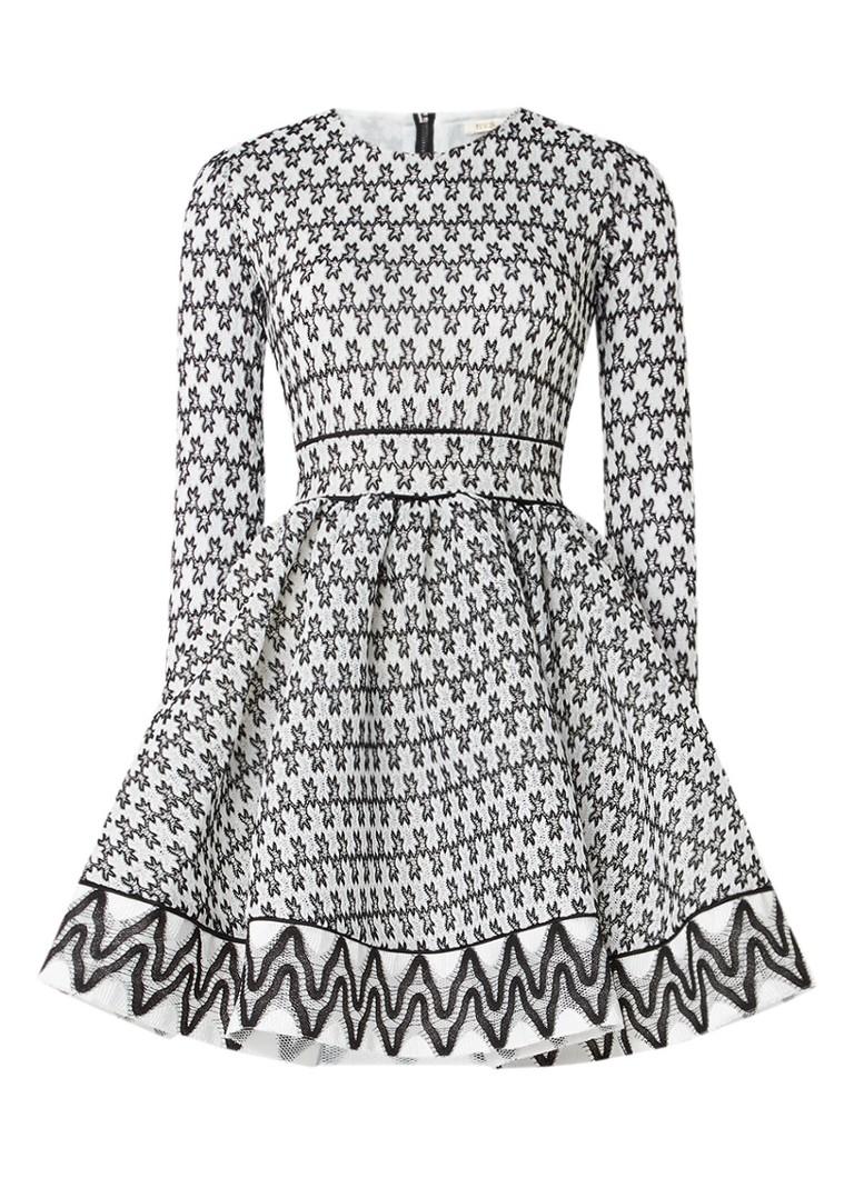 Maje Royan jurk van kant met