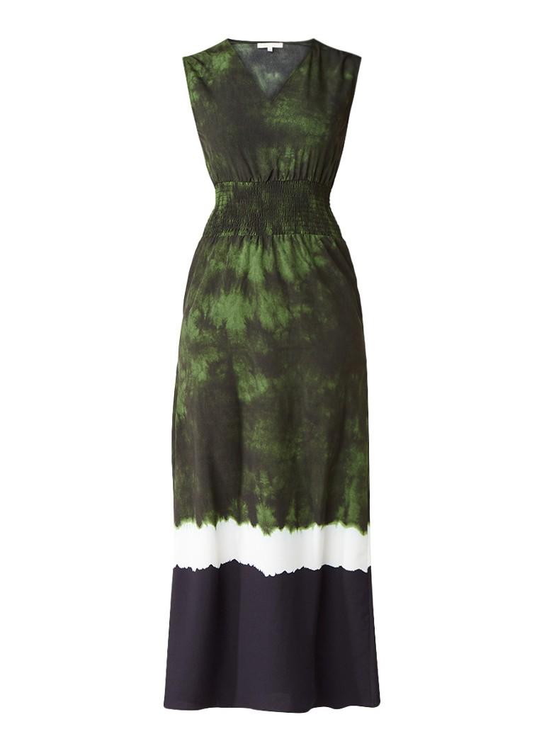 Maje Mouwloze tiedye jurk met