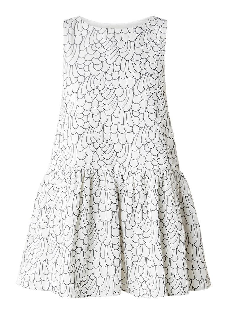 Maje Reflet Alijn jurk met