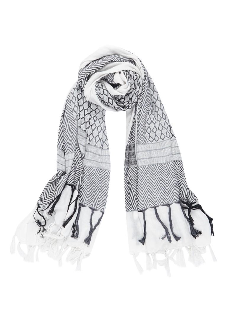 Expresso Davina sjaal 180 x 115 cm zwart