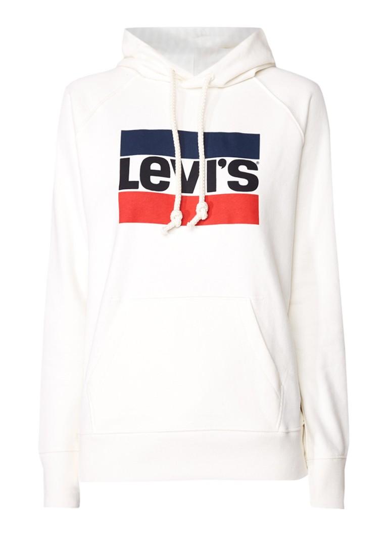Levi's Sport hoodie met logoprint