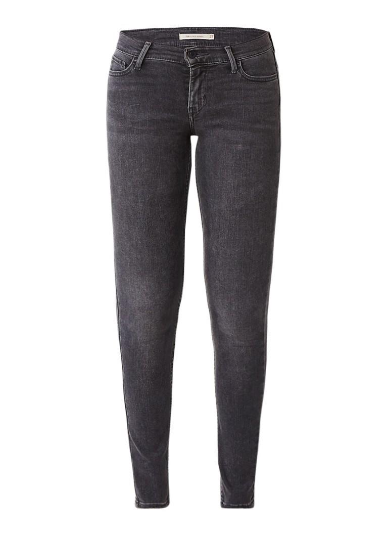 Levi's 710 Innovation mid rise super skinny jeans