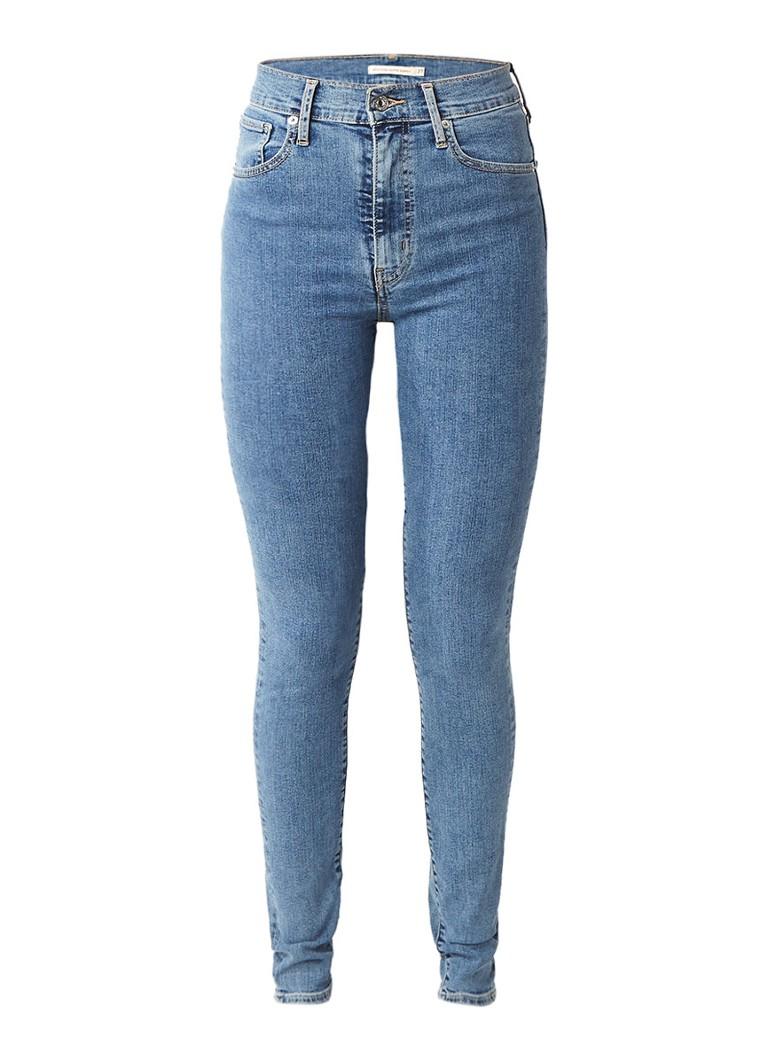 Levi's Mile high super skinny jeans cast away