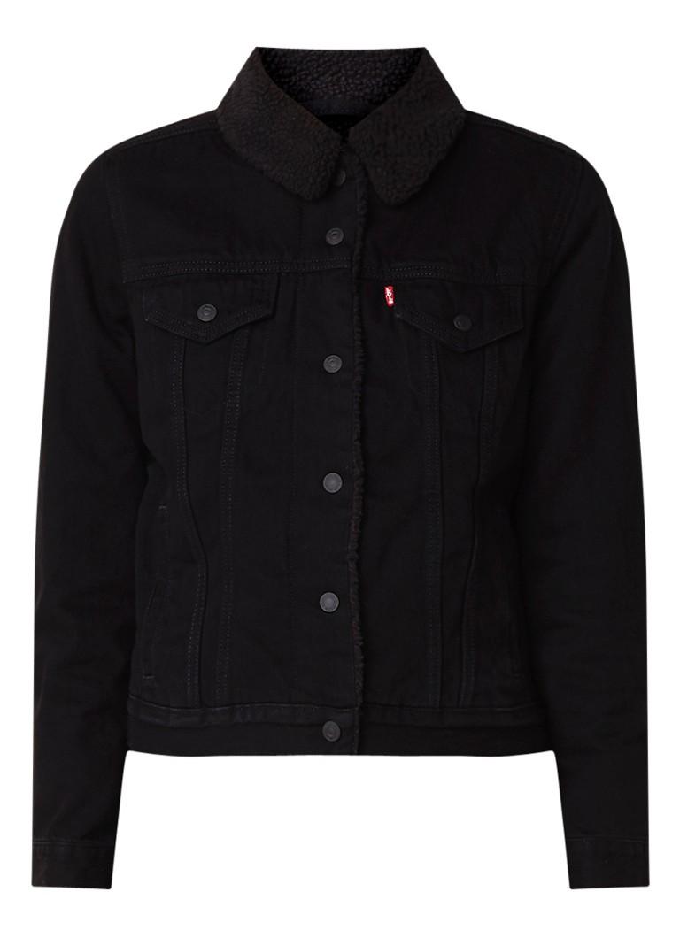 Levi's Original Sherpa Trucker jacket met teddy voering