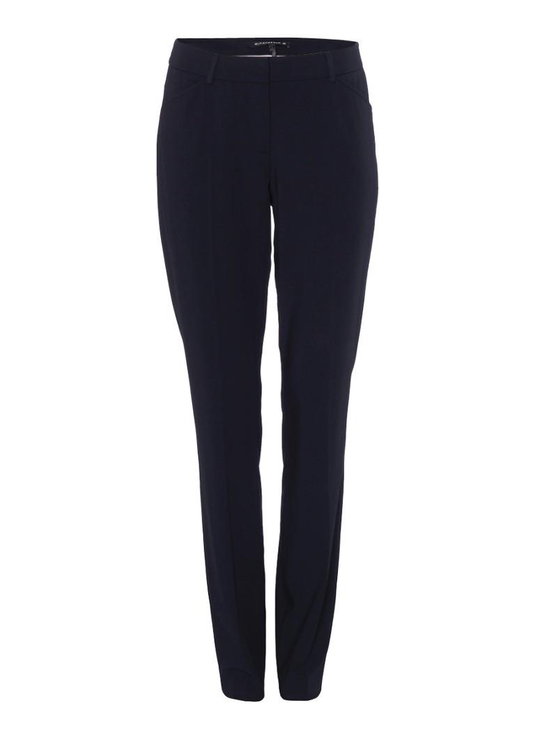 Expresso Xam pantalon in donkerblauw zwart