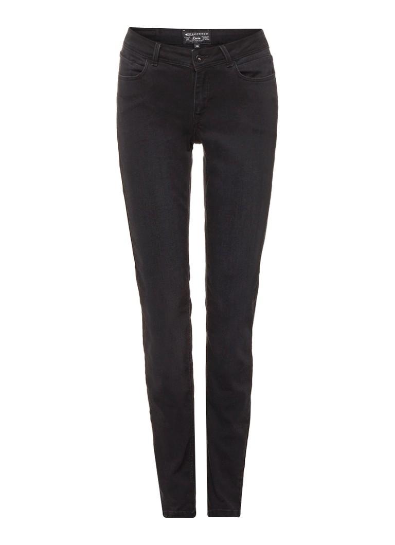 Expresso Bdonja mid rise skinny jeans zwart