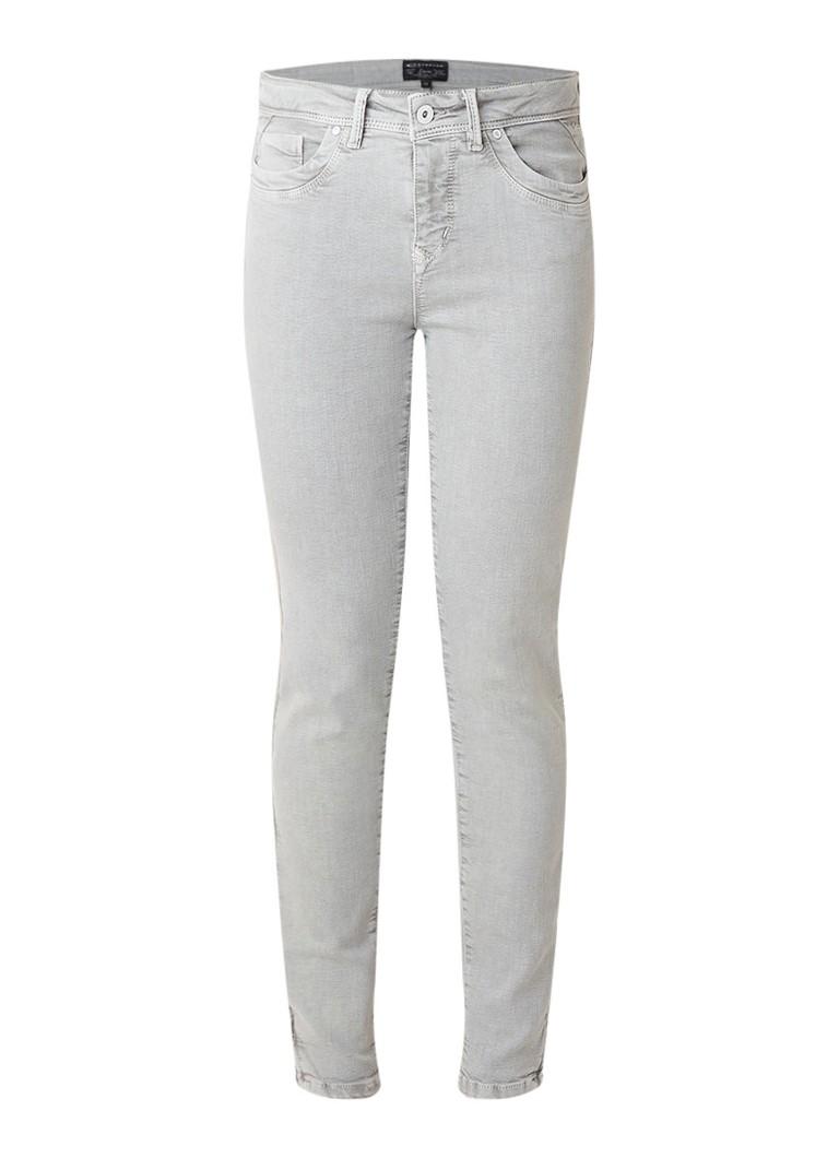 Expresso Dairen slim fit jeans met enkelritsen