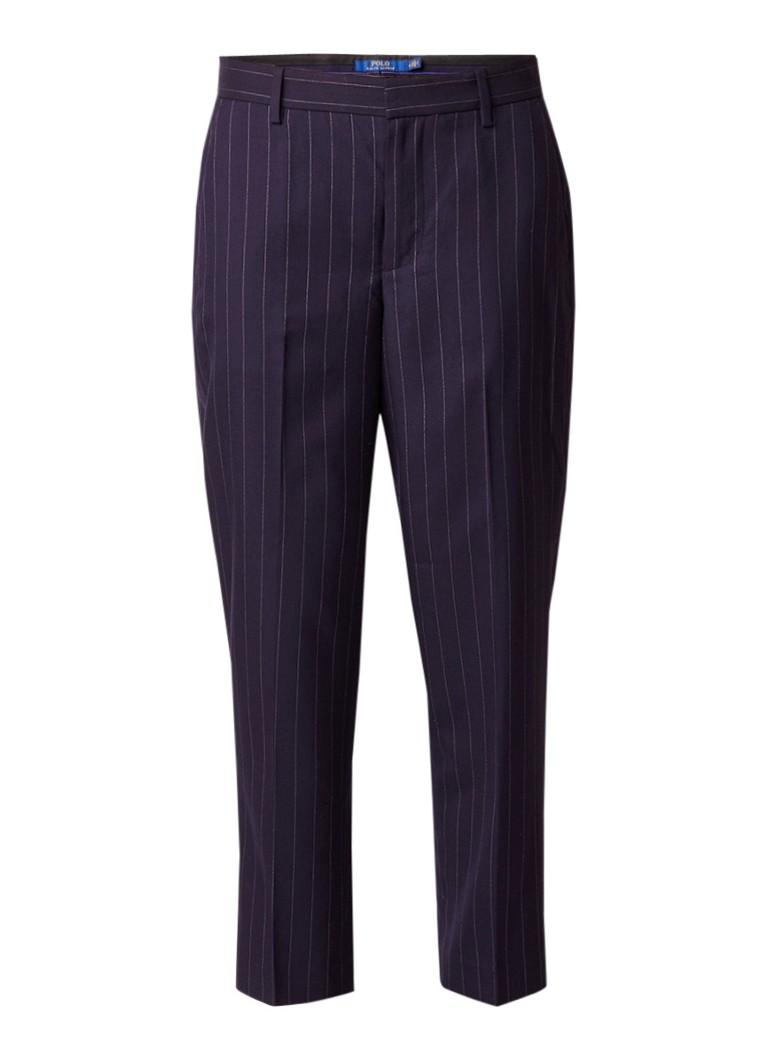 Ralph Lauren Pantalon van wol met krijtstreep