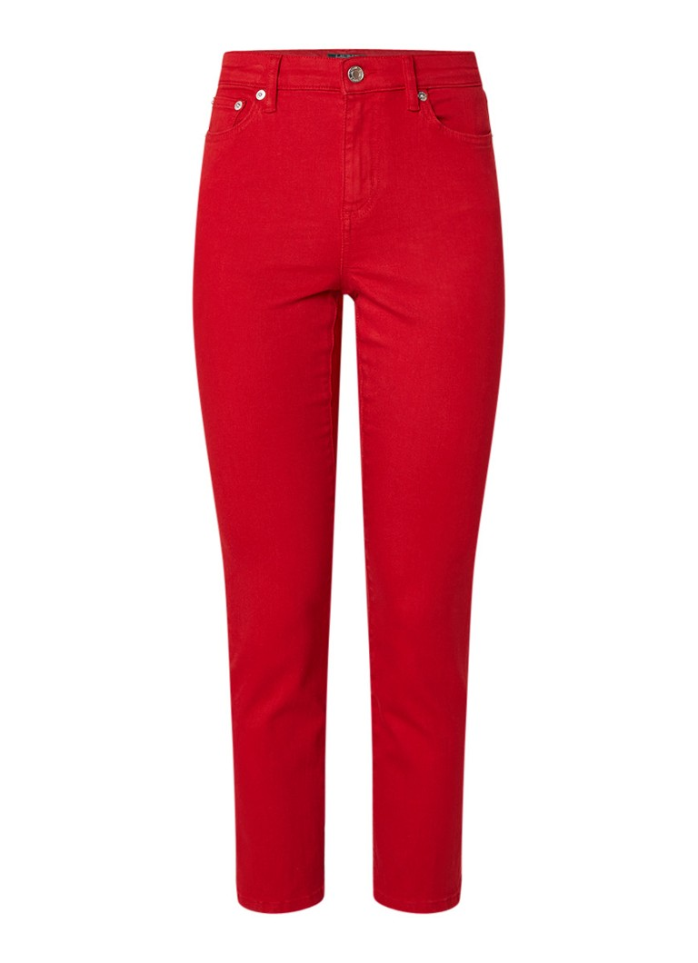 Ralph Lauren High rise skinny fit jeans met stretch